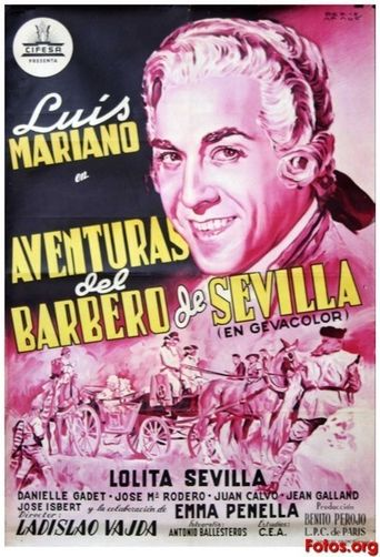 The Adventurer of Seville Poster