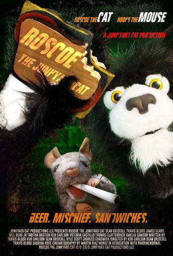 Roscoe the Junkyard Cat Poster