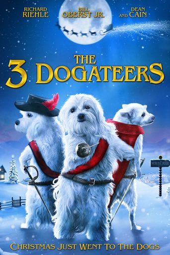 The Three Dogateers Poster