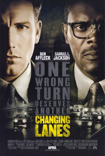 Changing Lanes Poster