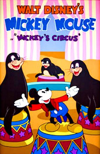 Mickey's Circus Poster