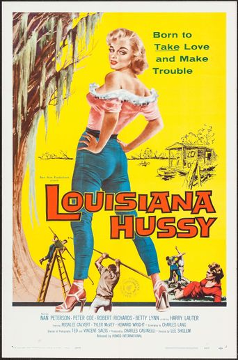 The Louisiana Hussy Poster