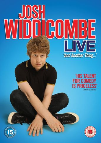 Josh Widdicombe Live: And Another Thing Poster