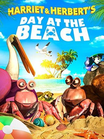 Harriet and Herbert's Day at the Beach Poster