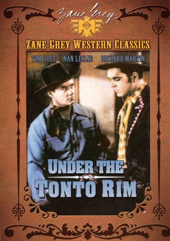 Under the Tonto Rim Poster