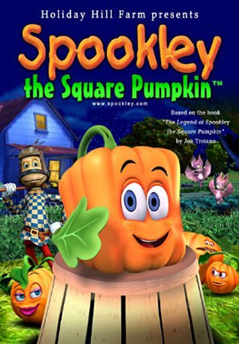 Spookley the Square Pumpkin Poster