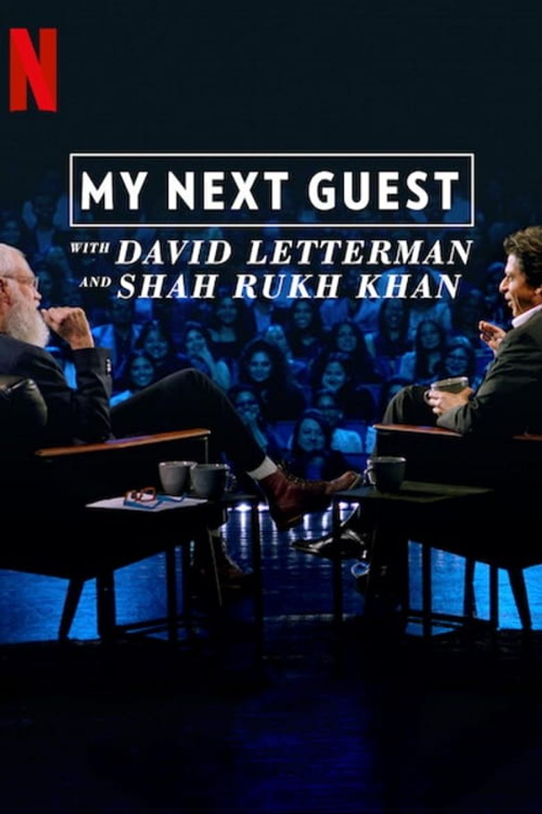 My Next Guest with David Letterman and Shah Rukh Khan Poster
