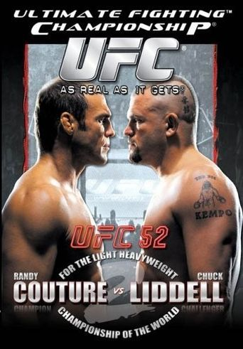 UFC 52: Couture vs. Liddell II Poster