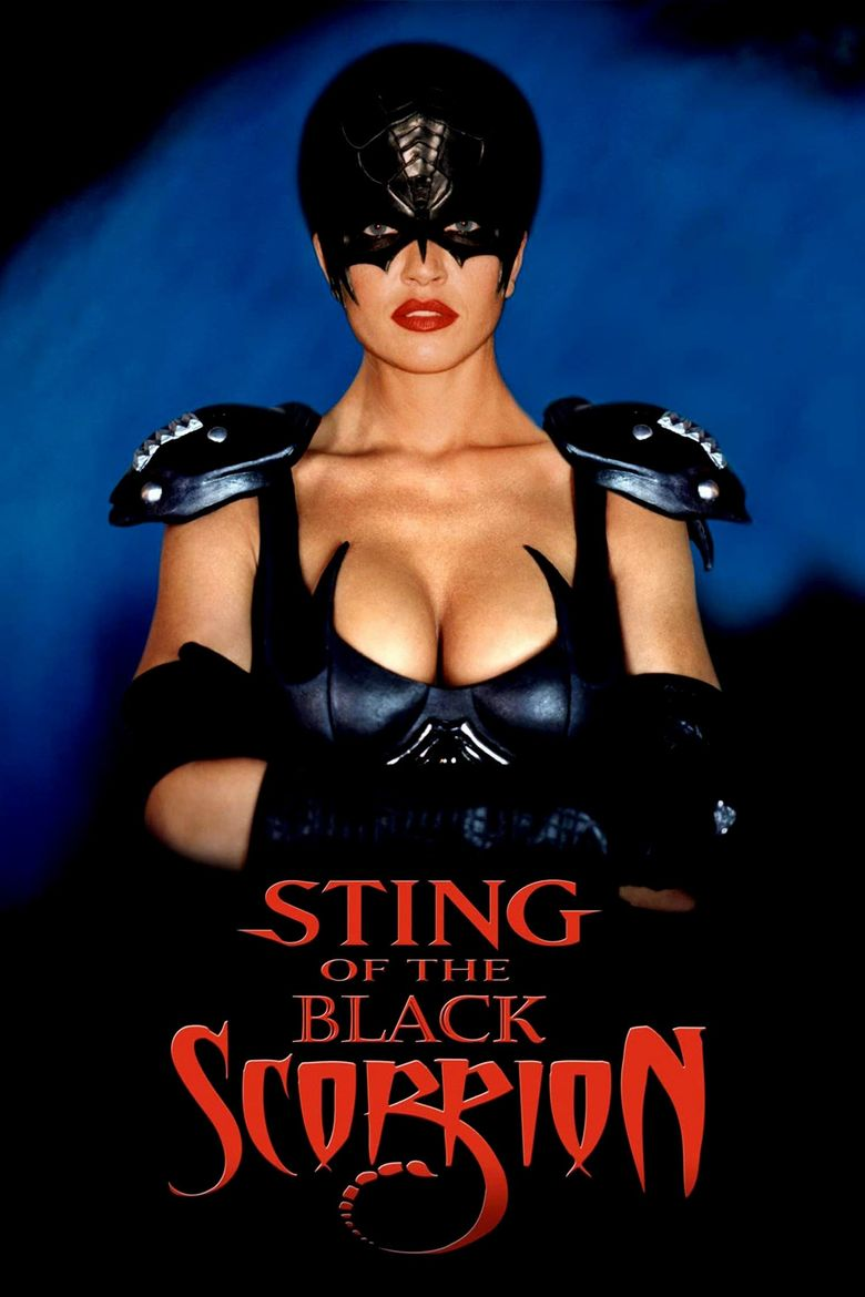 Sting of the Black Scorpion Poster