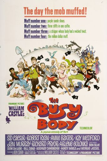 The Busy Body Poster