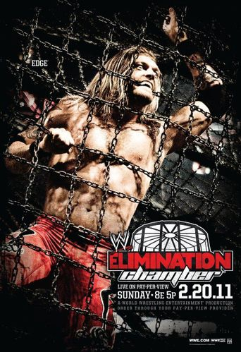 WWE Elimination Chamber 2011 Poster