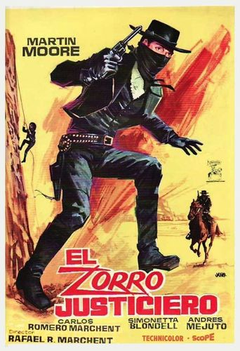 The Avenger, Zorro Poster