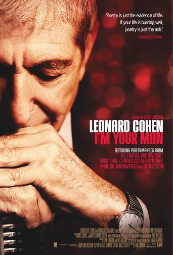 Leonard Cohen: I'm Your Man Poster