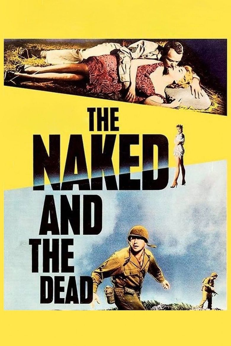 The Naked and the Dead Poster