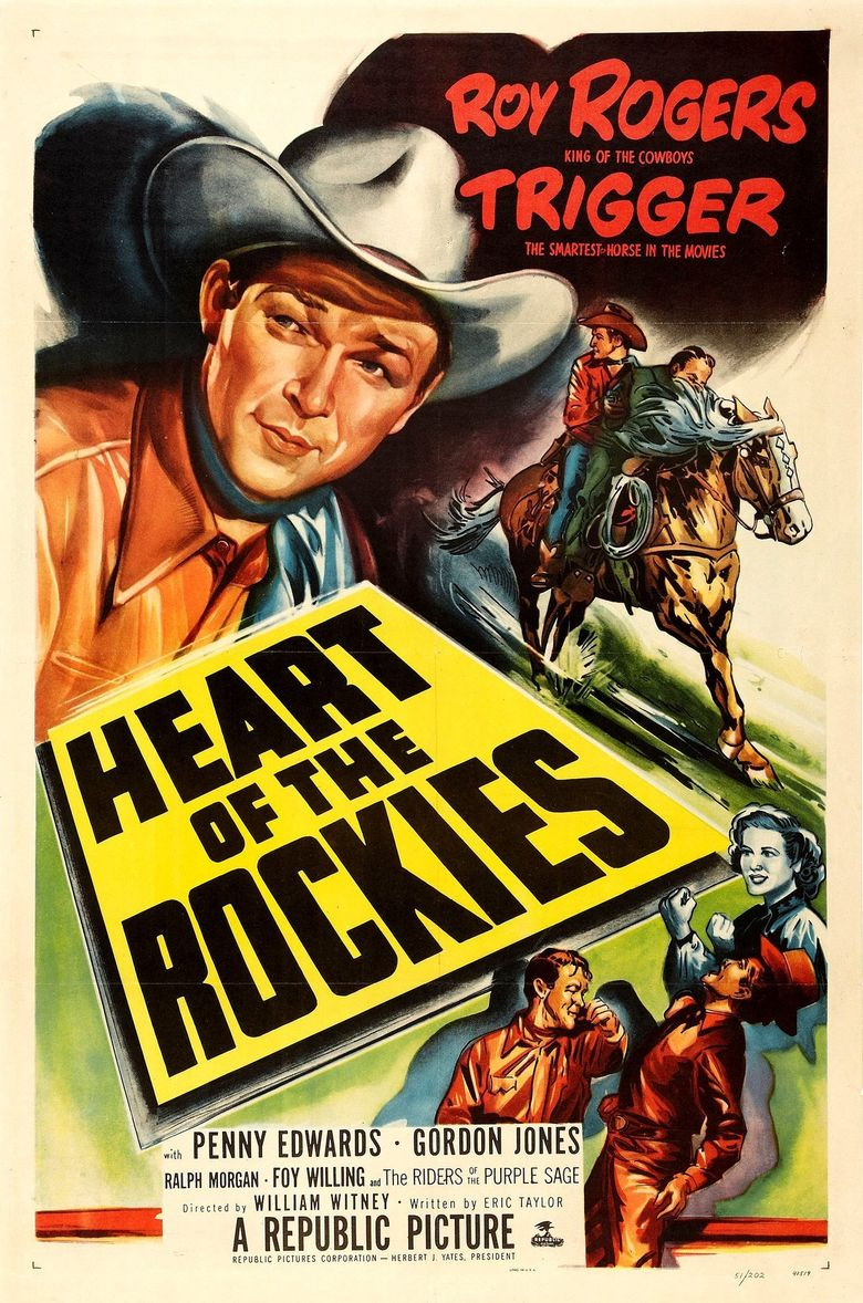 Heart of the Rockies Poster