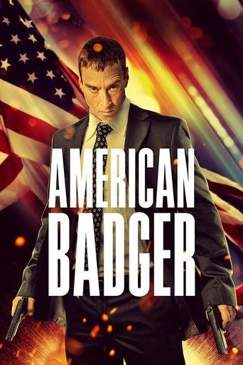 American Badger Poster