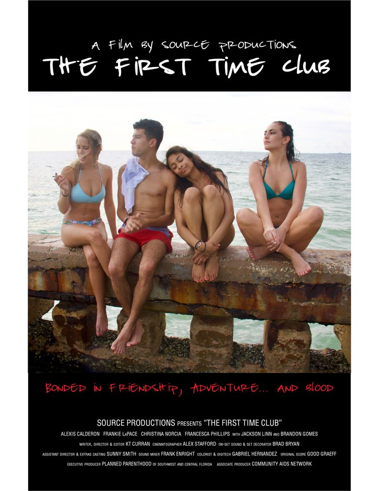 The First Time Club Poster