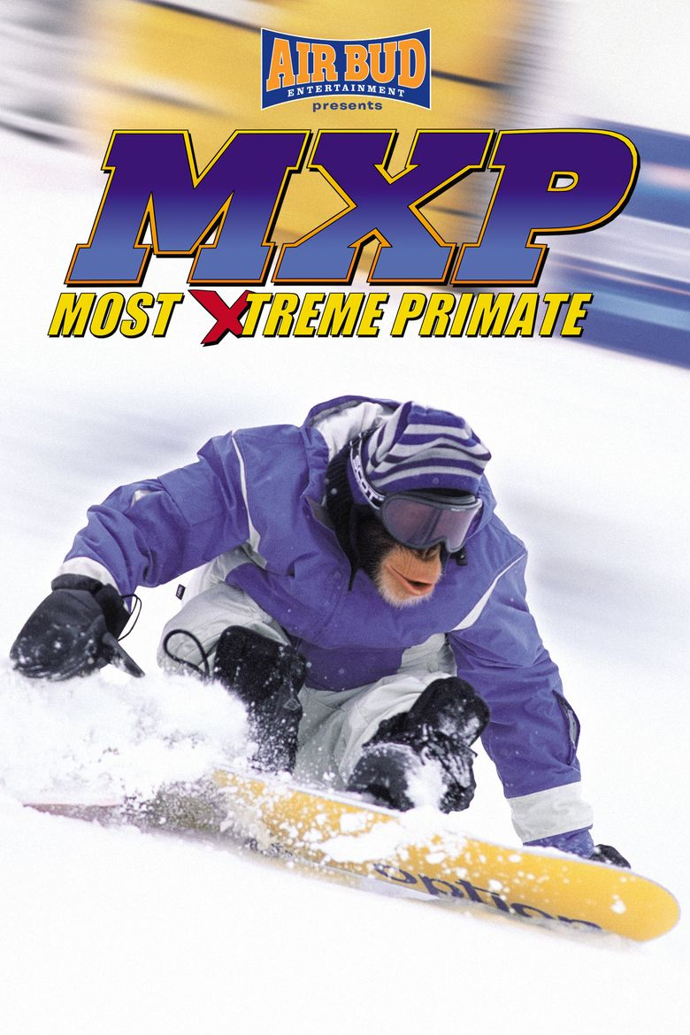 MXP: Most Xtreme Primate Poster