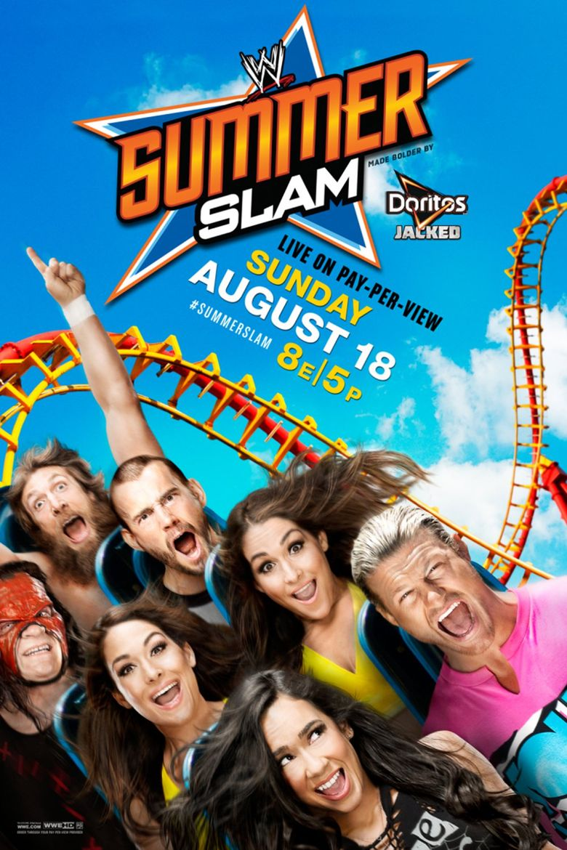 WWE SummerSlam 2013 Poster