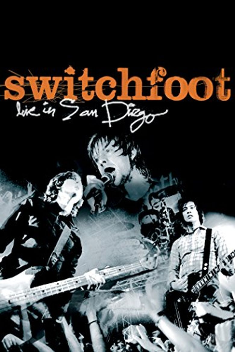 Switchfoot Live in San Diego Poster