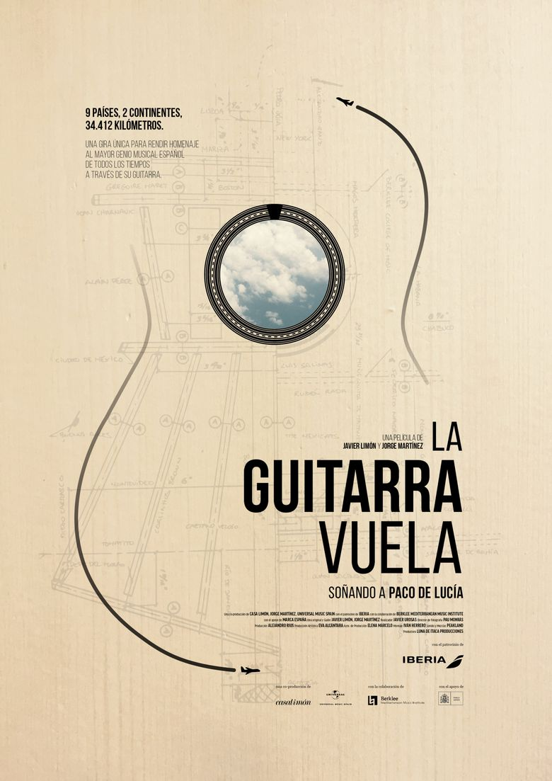 Flight of the Guitar: Dreaming of Paco De Lucia Poster