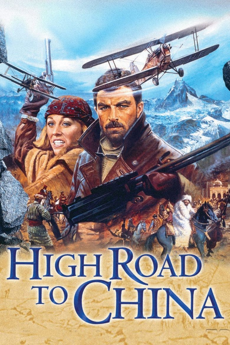 High Road to China Poster