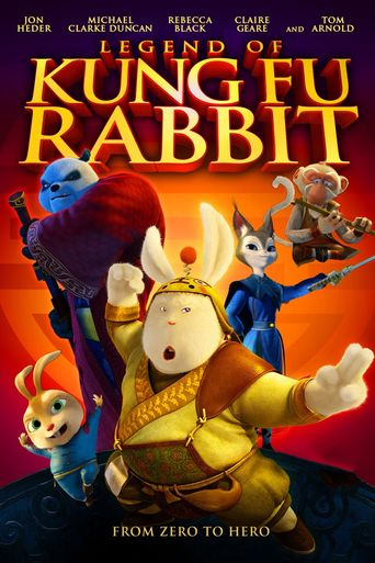 Legend of a Rabbit Poster