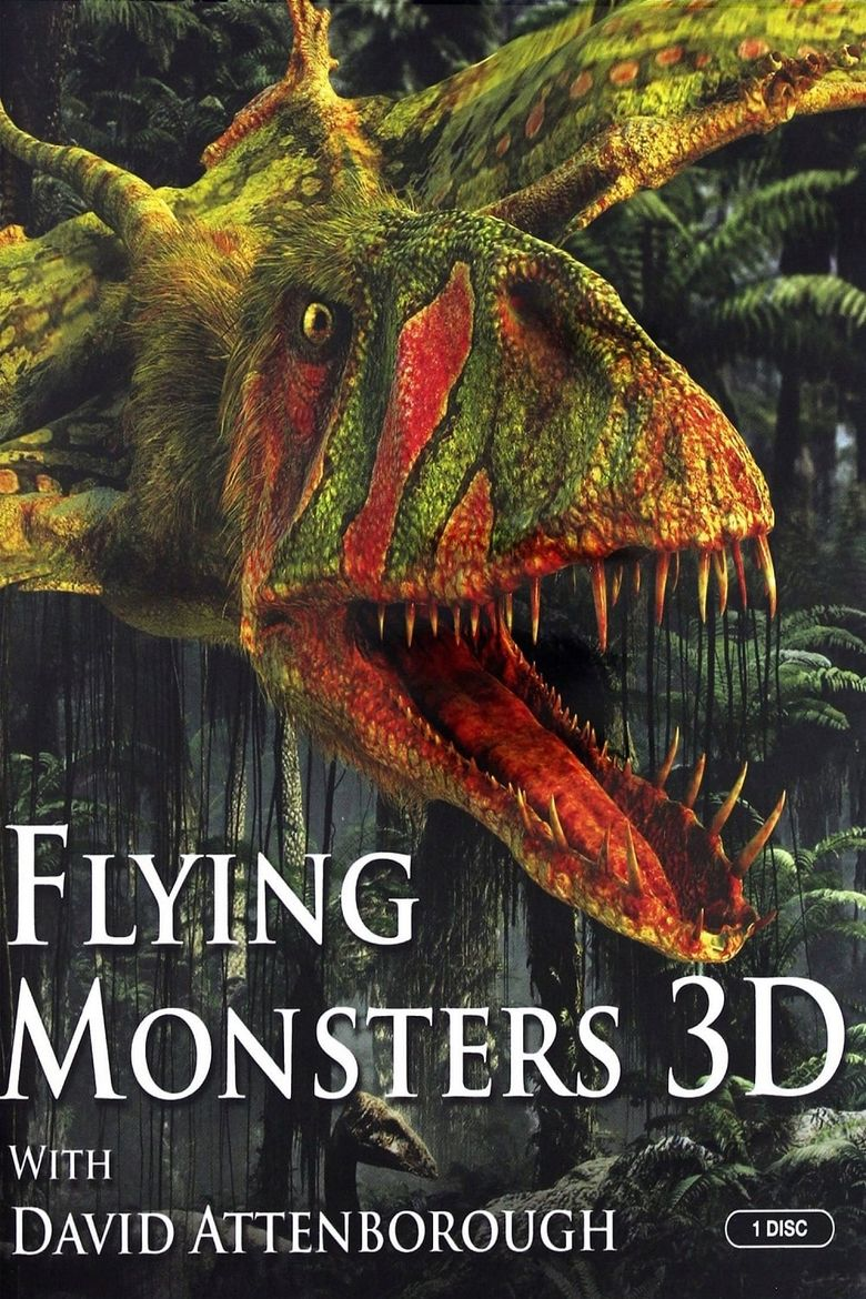Flying Monsters 3D Poster