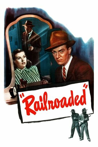 Railroaded! Poster