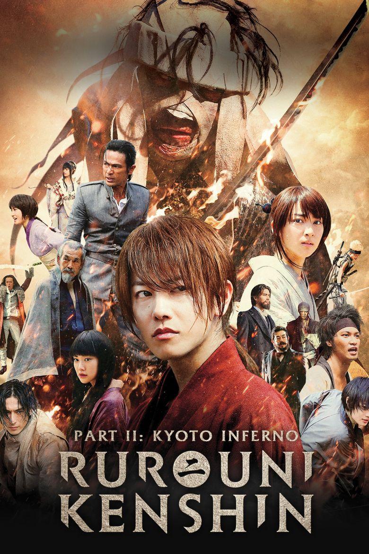 Rurouni Kenshin Part II: Kyoto Inferno Poster