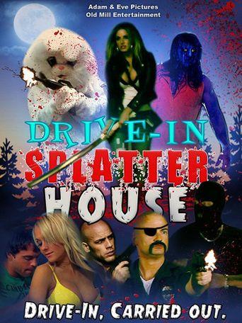 Drive-In Splatter House Poster