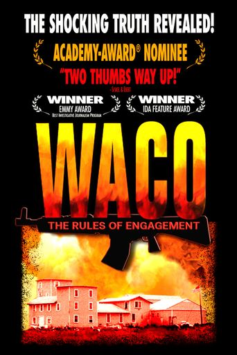 Waco: The Rules of Engagement Poster