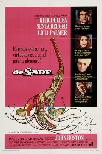 De Sade Poster