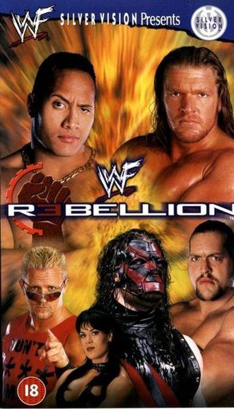 WWE Rebellion 1999 Poster