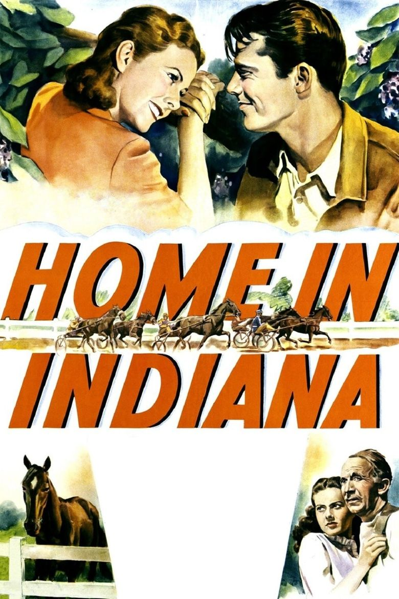 Home in Indiana Poster