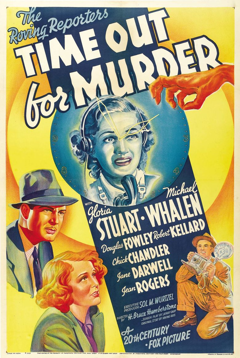 Time Out for Murder Poster