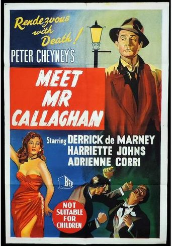 Meet Mr. Callaghan Poster