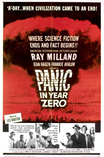 Panic in Year Zero! Poster