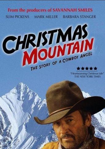 Christmas Mountain Poster