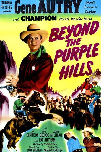 Beyond the Purple Hills Poster