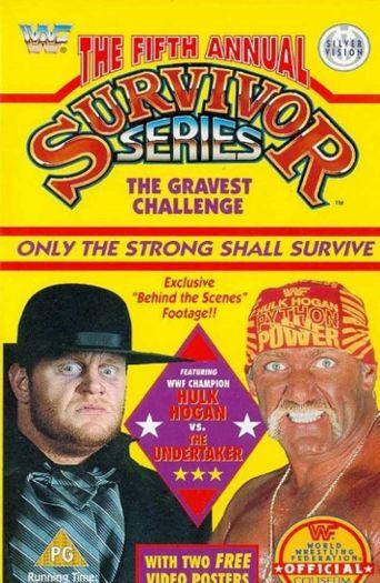 WWE Survivor Series 1991 Poster