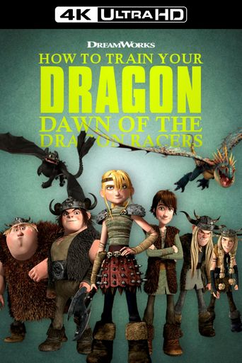 Dragons: Dawn Of The Dragon Racers Poster