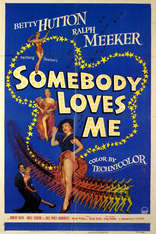Somebody Loves Me Poster