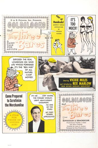 Goldilocks and the Three Bares Poster