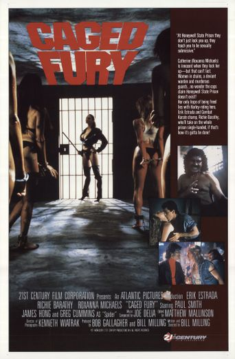 Caged Fury Poster