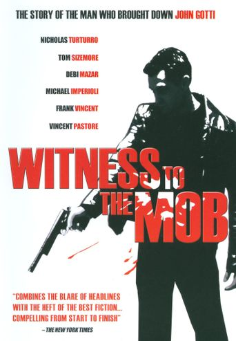 Witness To The Mob Poster