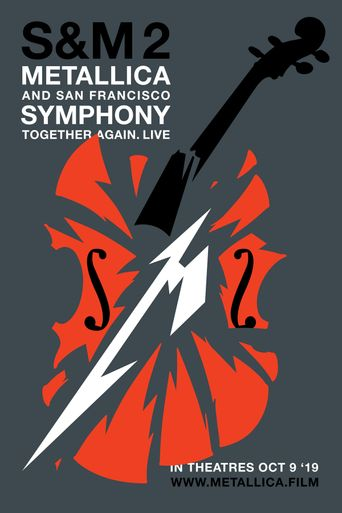 Metallica & San Francisco Symphony: S&M2 Poster