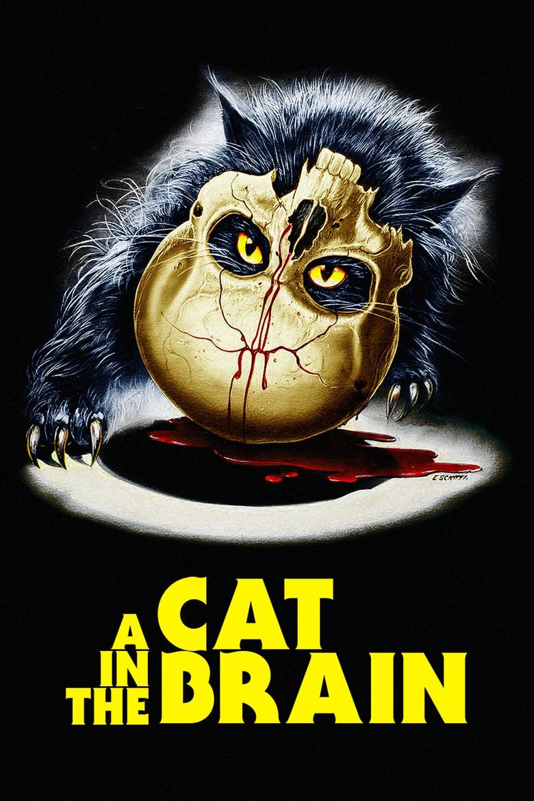 Cat in the Brain Poster