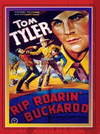 Rip Roarin' Buckaroo Poster