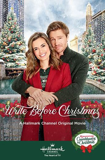 Write Before Christmas Poster